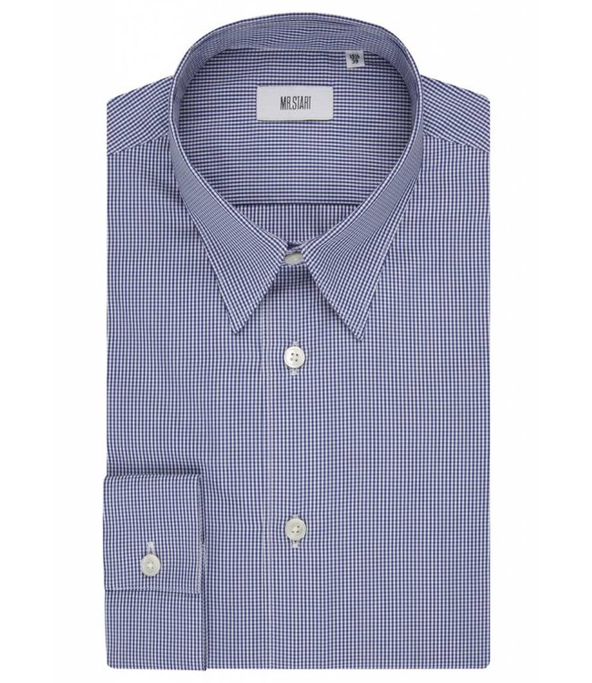 The Ace Shirt in Navy Gingham