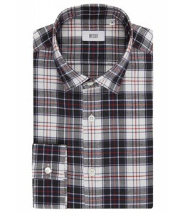 The Boundary - Black & White Tartan