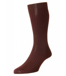 Pantherella  Socks - Burgundy