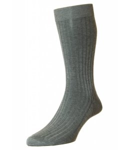 Pantherella Socks - Mid Grey Mix
