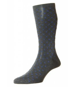 Pantherella -Socks in Grey/Blue