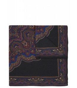 Silk Pocket Square - Bandana Print