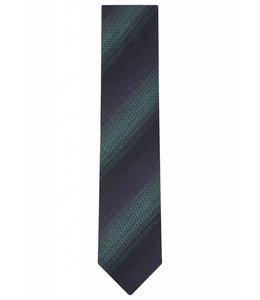 Woven Silk Tie - Diagonal Stripe