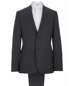 The Rivington Semi Soft  Fine Wool Two Piece  in Jacquard Blue
