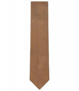 Textured Silk Tie in Gold Weave