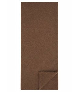 Super Soft Wool & Alpaca Tubular Scarf in Tan
