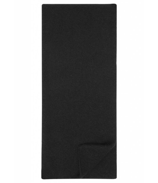 Wool & Alpaca Scarf in Black