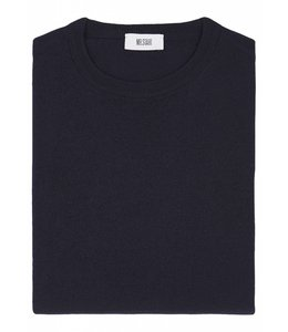 Merino Crew Neck - Navy Blue