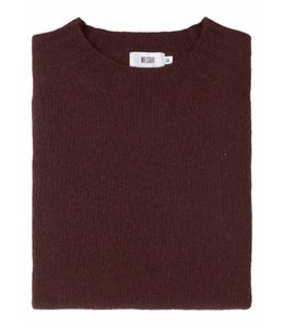 The Lomond Pure Shetland Wool Crew Neck Sweater in Wizard