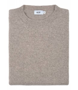 The Rannoch Cashmere & Merino Wool Crew Neck in Juta