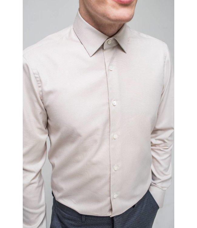 Drake Shirt Tapestry Weave Beige