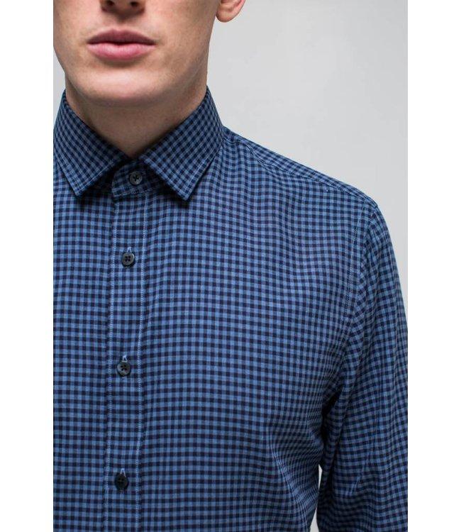 Truman Shirt in Soft Blue Check