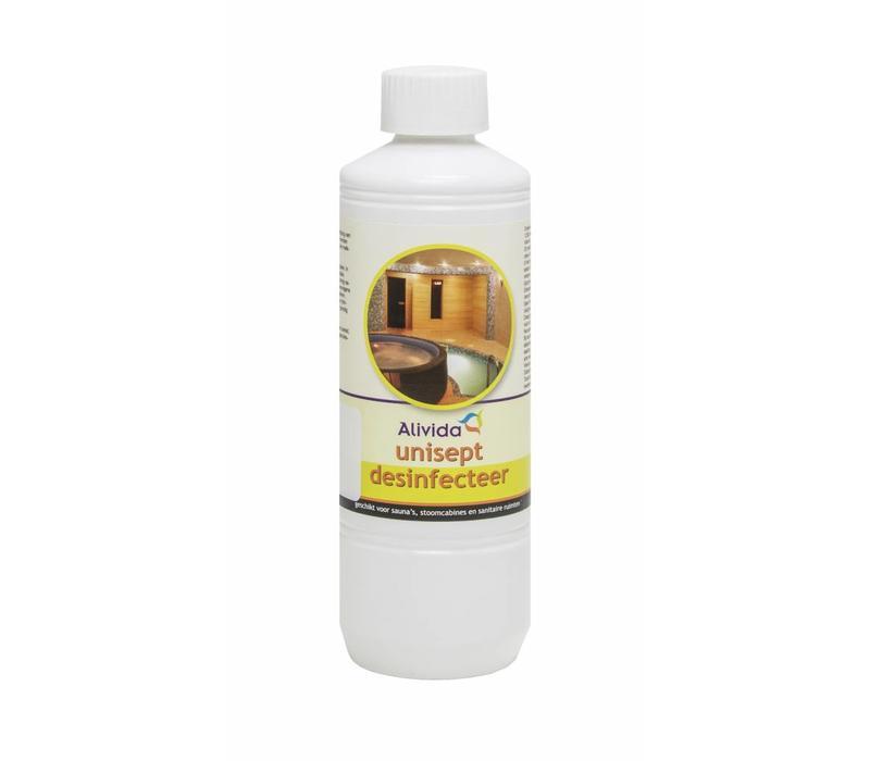 Desinfecteermiddel voor sauna`s, stoomcabines en sanitaire ruimtes