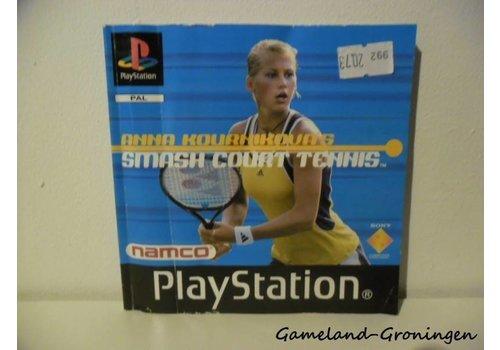 Anna Kournikova`s Smash Court Tennis (Handleiding)