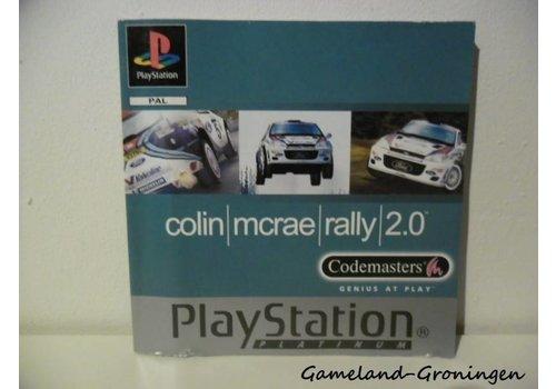 Colin McRae Rally 2.0 (Handleiding, Platinum)