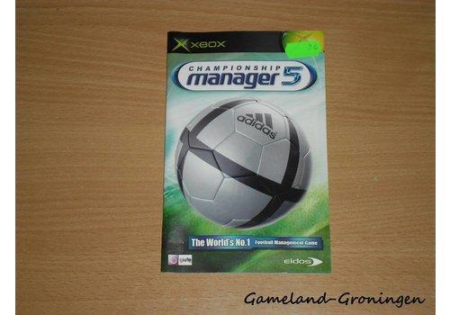 Championship Manager 5 (Handleiding)