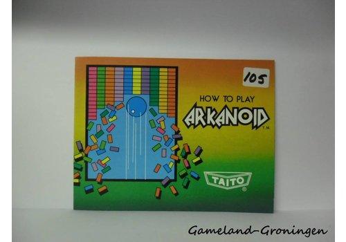 Arkanoid (Handleiding, USA)