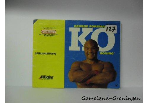 George Foreman's KO Boxing (Handleiding, NOE)