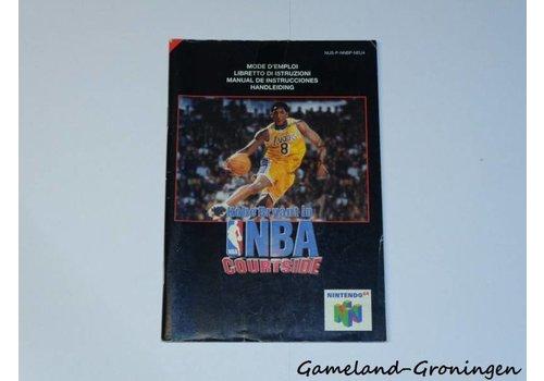 Kobe Bryant in NBA Courtside (Handleiding, NEU4)