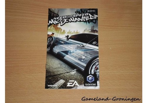 Need for Speed Most Wanted (Handleiding)