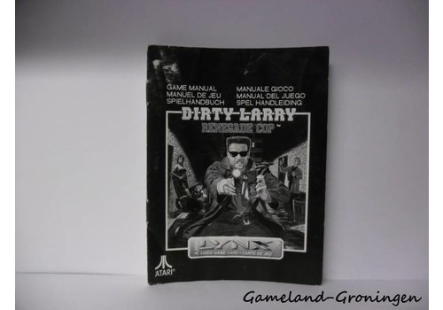 Dirty Larry Renegade Cop (Handleiding)