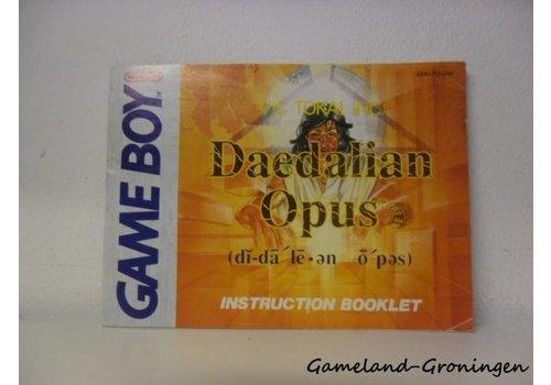 Daedalian Opus (Handleiding, USA)