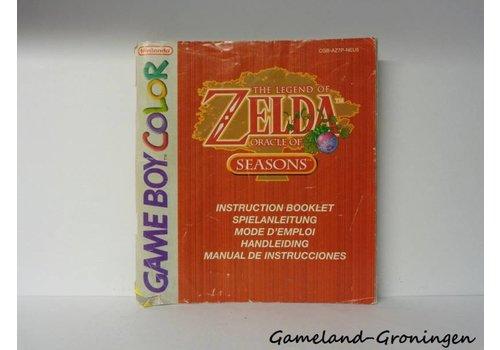 The Legend of Zelda Oracle of Seasons (Manual, NEU5)