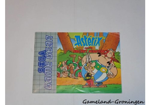 Asterix and the Secret Mission (Handleiding)