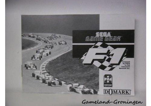 F1 (Handleiding)