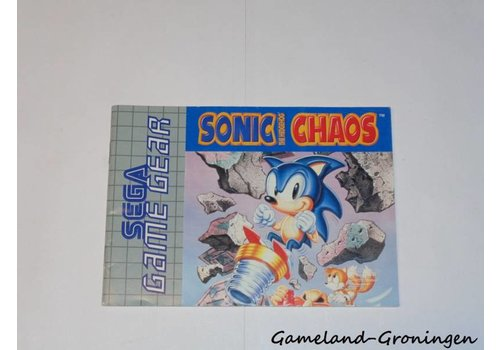 Sonic the Hedgehog Chaos (Handleiding)