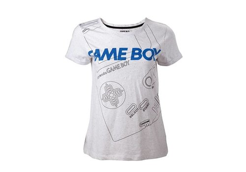 Nintendo - Gameboy Line Dames T-Shirt