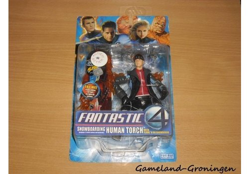 Fantastic Four - Snowboarding Human Torch Action Figure