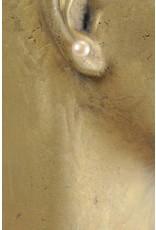 Ohrstecker mit Button Perle