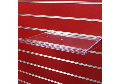Kunststof schap, 400 x280 (D)mm