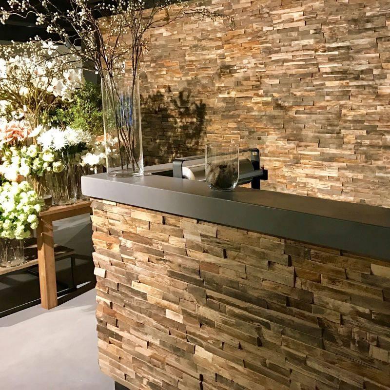 goedkope hardhouten 3d wandpanelen geschikt voor. Black Bedroom Furniture Sets. Home Design Ideas