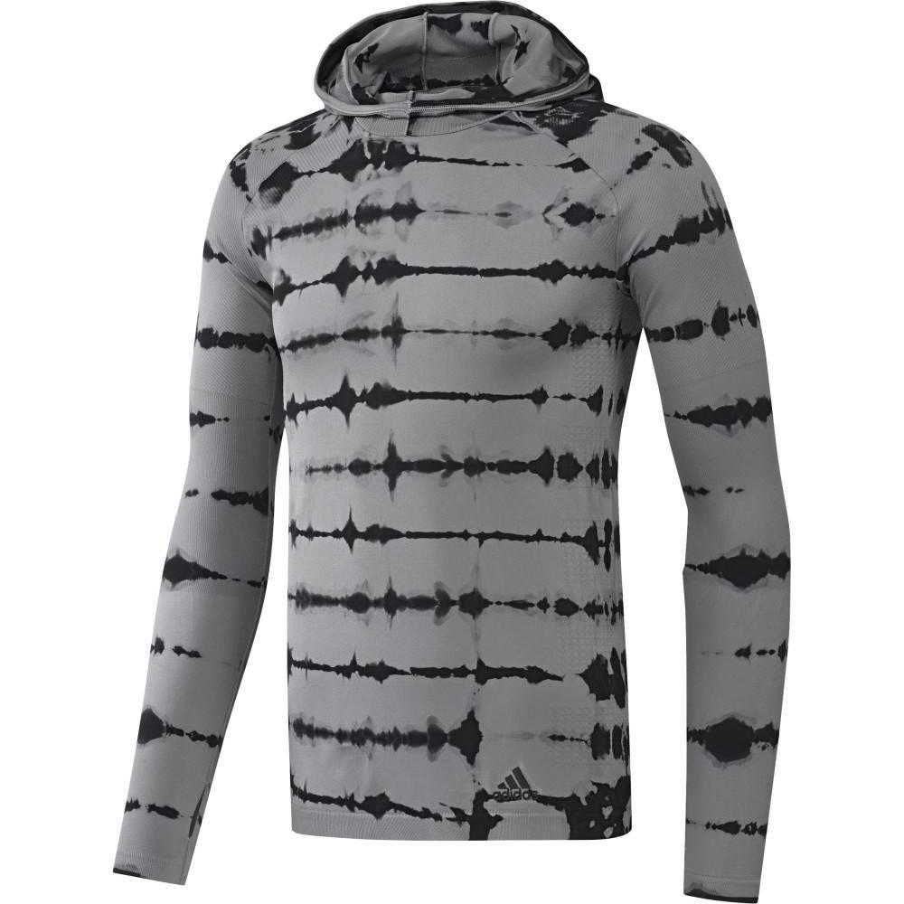 Adidas Adidas Mens Primeknit LS Hoodie