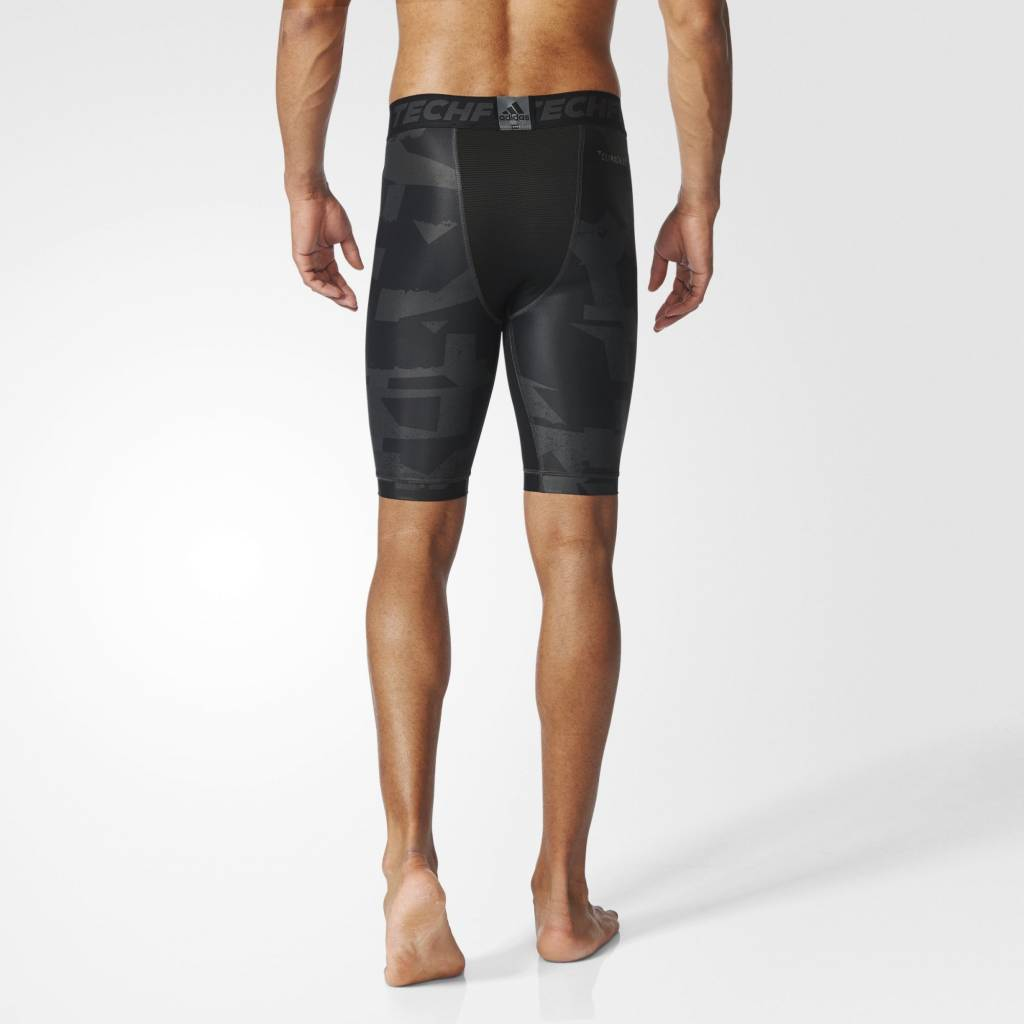 Adidas Adidas Mens Techfit Chill Short Tights