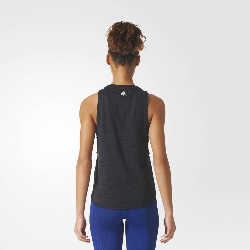 Adidas Adidas Womens Climacool Aeroknit Deep Armhole Tank Top