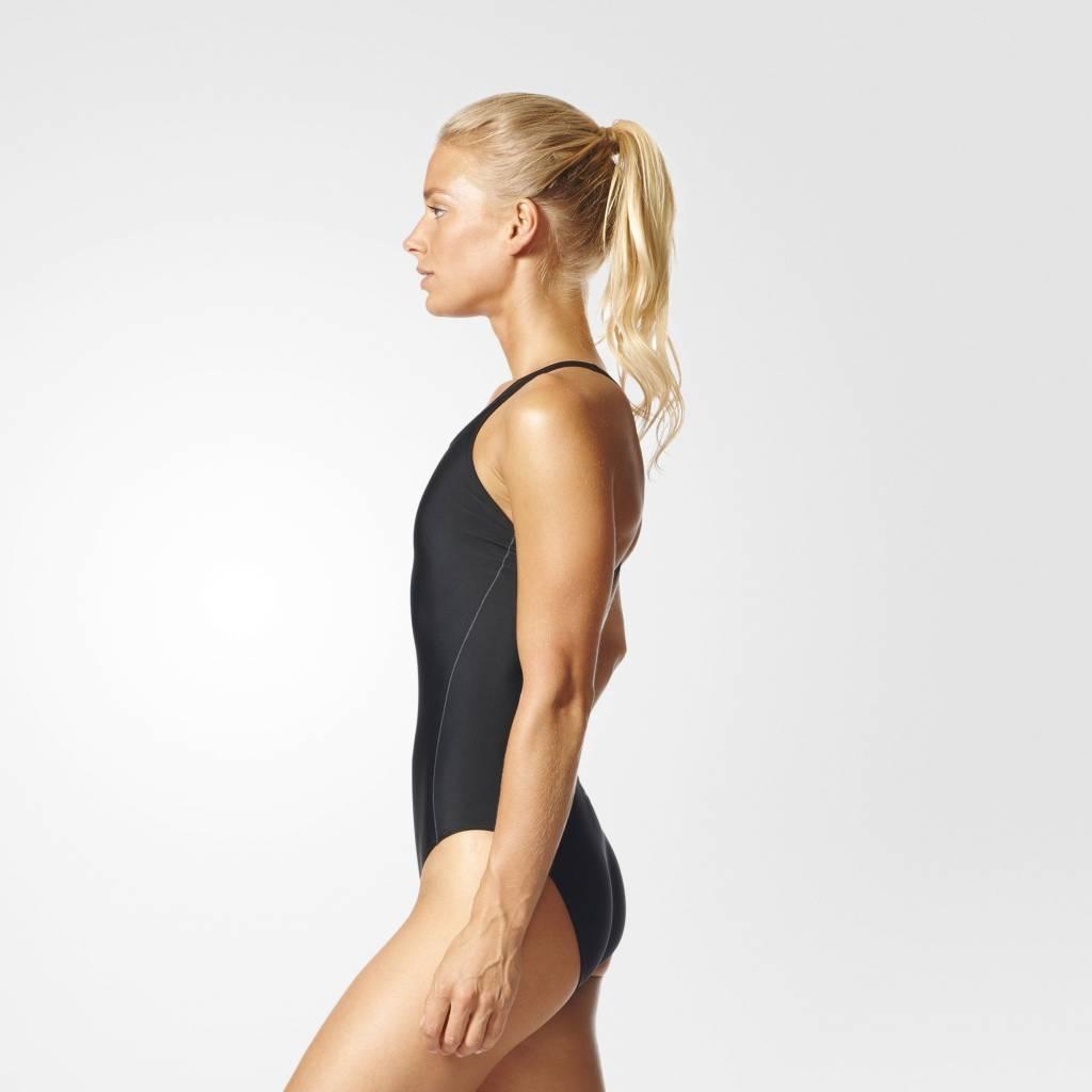 Adidas Adidas Womens Essence Core Solid Swimsuit