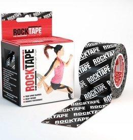 Rocktape Rocktape Kinesiology Tape 5cmx5m Black Logo