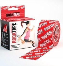 Rocktape Rocktape Kinesiology Tape 5cmx5m Red Logo