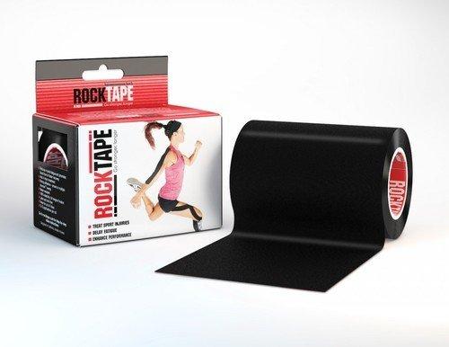 Rocktape Rocktape Kinesiology Tape 10cmx5m Black