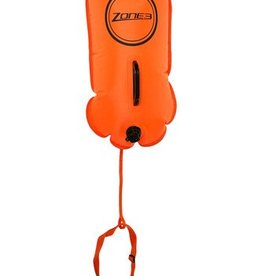 Zone 3 Zone 3 28l swim buoy/dry bag - ORANGE