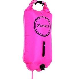 Zone 3 Zone 3 28l swim buoy/dry bag - PINK