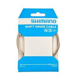 Shimano Shimano PTFE Road/MTB Inner Gear Cable - 2.1m single