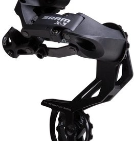 Sram SRAM X3 Rear Derailleur Long Cage - 7,8 Speed Black