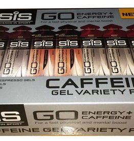 Science in Sport SiS Caffeine Gels Variety Pack