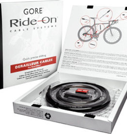 Gore Gore Ride On Professional Replacement Gear Cable Set - Black