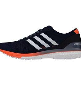 Adidas Adidas Mens Adizero Boston (Collegiate Navy/White/Orange)