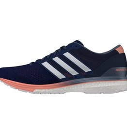 Adidas Adidas Womens Adizero Boston 6 (Noble Indigo/White/Raw Steel)